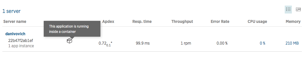 New Relic APM with node.js in a Docker container